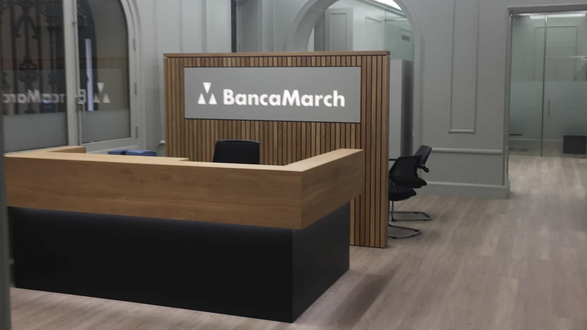 Banca march calle san miguel movigrup obras y servicios for Oficinas banca march palma